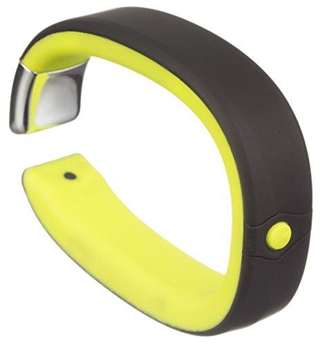 MILESTONE Erwachsene Aktivitäts und Schlaftracker Gravitate Bluetooth Wireless Wasserfest Aktivitätstracker, Grün, M/L