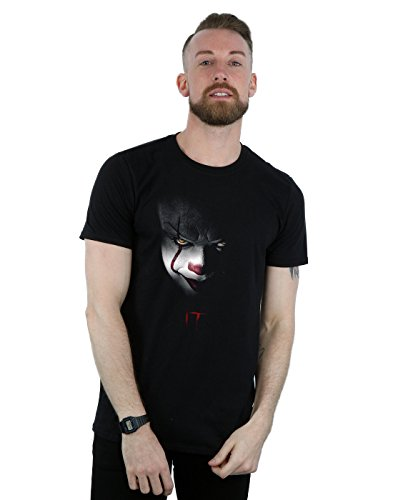 It Hombre Pennywise Stare Camiseta Large Negro