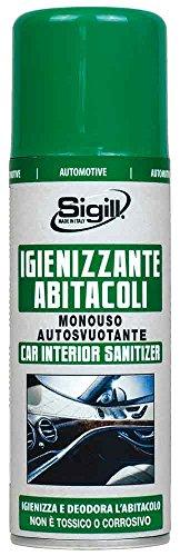 SIGILL 04643 Igienizzante Abitacolo Monouso, 200 ml