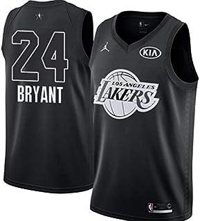 5b538da53 Nike Jordan Youth 2018 NBA All-Star Game Kobe Bryant Black Dri-FIT Swingman