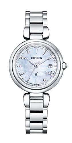 [Citizen] 腕時計 クロスシー mizu collection 限定モデル 世界限定1,600本 ES9461-51W レディース シルバー