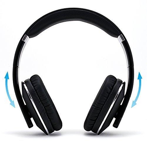 Auriculares Bluetooth de CSL| inalámbricos | internos | Bluetooth V4.0 | Color Negro/Antracita