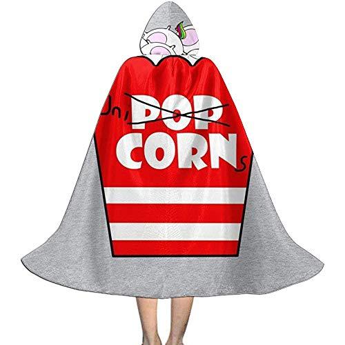 Niet van toepassing Capuchon Cape, Unisex Cosplay Rol Kostuums, Volwassen Robe Mantel, Eenhoorn Popcorn Heks Wizard Mantel, Halloween Party Decoratie Bovenkleding, Vampier Mantel