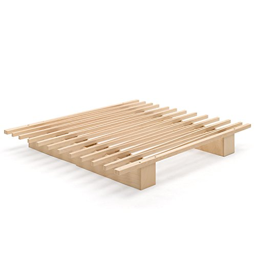 Tojo Bett - Tojo-v ausziehbares Gästebett, Stundentenbett, Singlebett -Funktionsbett mit variabler Größe - 90 bis 180 cm- Tojo Möbel mit minimalistischem, modernem Design