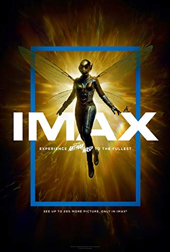 ANT Man and The WASP - US Imax Movie Wall Poster Print - A4 Size Plakat Größe