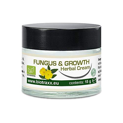 Biotraxx Fungus & Growth (Pilz creme) Herbal Creme | 15g | Glasbehälter | Hergestellt in Deutschland