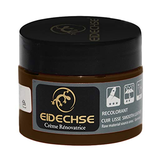 VanseeLeather Repair Cream Filler Compound for Leather Restoration Cracks Burns & Holes (Brown)