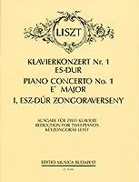 リスト : ピアノ協奏曲 第1番 変ホ長調/ムジカ・ブダペスト社/2台ピアノ用編曲