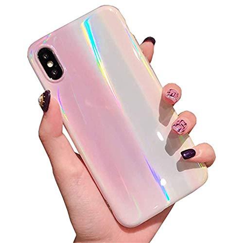 Hishiny Cover iPhone XS Max, iPhone XR Custodia Silicone Caso Molle di TPU Sottile Anti Scratch Case Copertura Protezione Antiurto Bumper Case per iPhone XS/XR/XS Max
