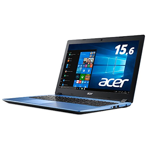 Acer ノートパソコン Aspire 3 A315-32-N14U/B (Celeron/4GB/256GB SSD/ドライブなし/15.6型/Windows 10/ス...