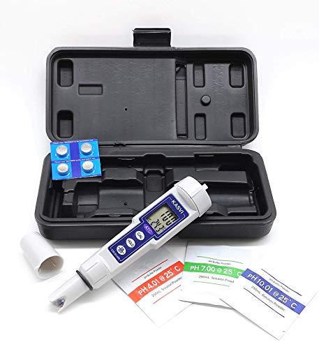 Phmetro Digital Medidor de ph profissional Com compensação de temperatura