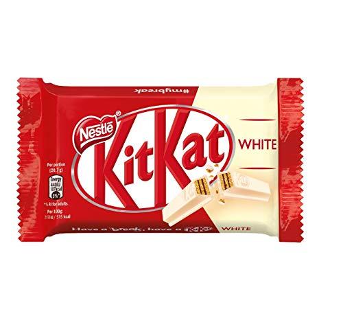 Kitkat White Snack con Wafer Ricoperto di Cioccolato Bianco, 3 x 41.5g