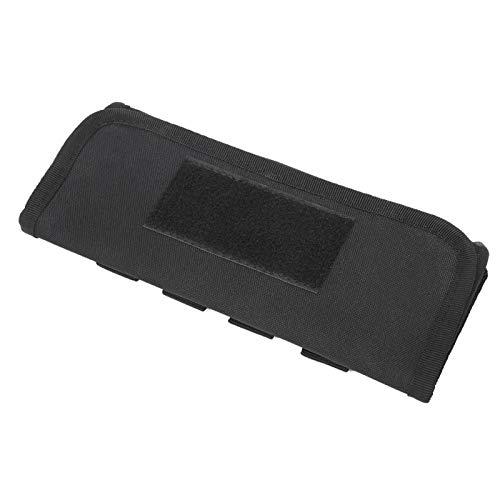 SALUTUYA Bolsa de Balas Resistente Bolsa de Balas de Ventilador Militar Multifunción de Nylon, para Deportes al Aire Libre(Black)