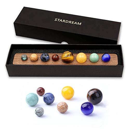 die acht Planeten Dekoration Sonnensystem-Modell, pädagogisches Modell, Anschauungsmodell für den Schreibtisch