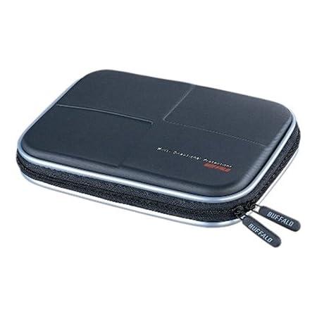 BUFFALO 低反発ポータブルハードディスク用セミハードケース BBGHH01A ブラック BBGHH01BKA
