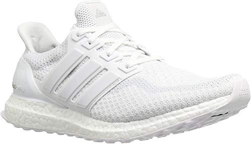 Adidas Ultra Boost M M Laufschuhe für Herren, geeignet für Wettkämpfe, - White, White - Größe: 43 1/3 EU