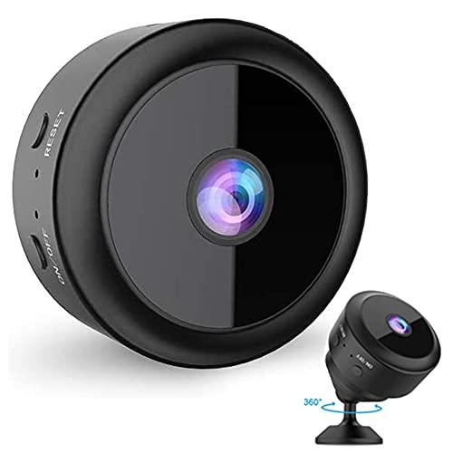 Cámaras Inalambricas,Cámaras vigilancia WiFi Interior,1080P HD Camara con IR Visión Nocturna Detector de Movimiento, Grabadora de Video, Camaras de Seguridad Pequeña para Interior/Exterior
