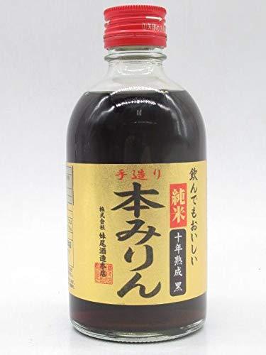 妹尾酒造本店 純米本みりん 十年熟成 黒 12度 300ml ■飲んでもおいしい