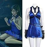 Rubyonly Traje FF7 Tifa Cosplay Final Fantasy VII Remake del Juego del Traje de Cosplay Mujeres Sexy Tifa Lockhart Vestido de Traje de baño,XXL