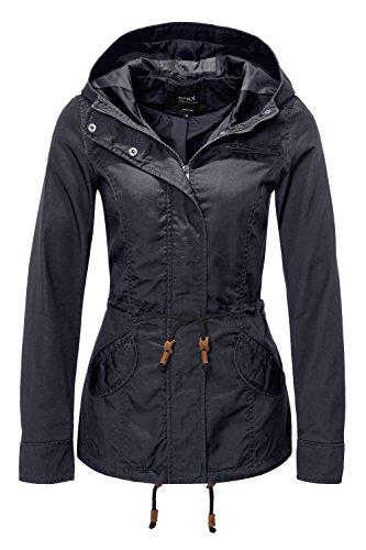 ONLY Damen Jacke Onllorca Spring Parka Jacket CC Otw, Blau (Blue Graphite), Gr. S