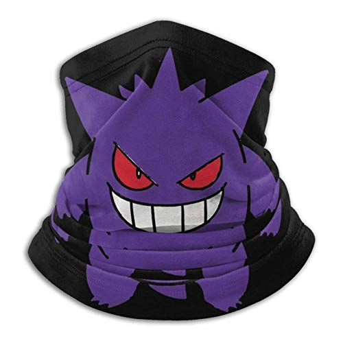 fenrris65 Unisex Face Mask Gengar Multifunctional Balaclava Headwear Bandana Balaclava for Outdoor Sports