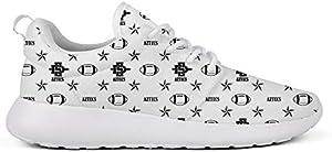 GuLuo Women's Road Running Shoes Classic Flat Bottom Outdoor Hiking Walking Sneaker