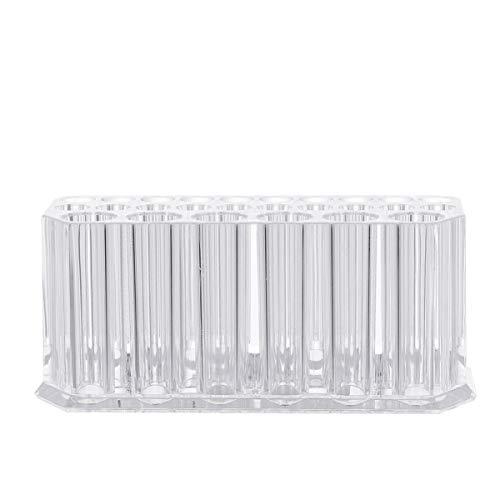 FRCOLOR Acryl Eyeliner Halter Lippenstifthalter Stifthalter 26 Gitter Make Up Pinsel Aufbewahrung...