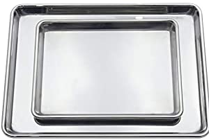 Checkered Chef Stainless Steel Baking Sheets
