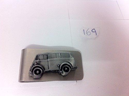 Art von Morris J Van (Post Office mit Seitenscheiben) Emblem 3D Effekt Zinn auf eine wunderschöne Silber Clip ref169