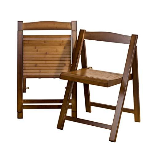 Sillas de Comedor Plegables de Madera, Patio/terraza, sillas Plegables de Madera, Silla de Patio, Tumbona, Muebles para terraza Interior o Exterior, balcón, Camping