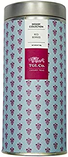 TGL Co. Luxury Teas Red Berries Black Tea, (50 gms | Makes 25 Cups)
