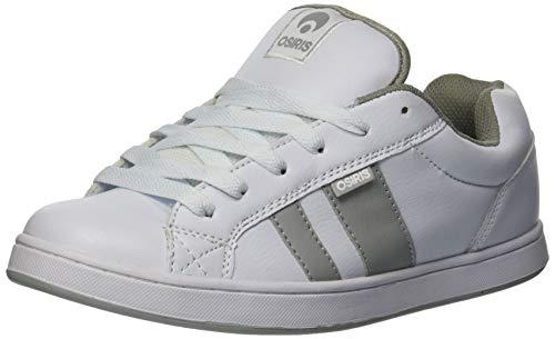 Osiris Chaussures de Skateboard Loot pour Homme. - - Blanc, Gris Clair, Blanc, 42 EU