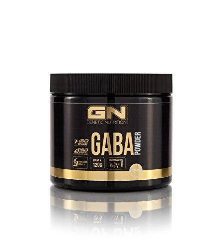 GN Laboratories GABA Powder Regeneration Muskelaufbau Aminosäure Bodybuilding - 120g