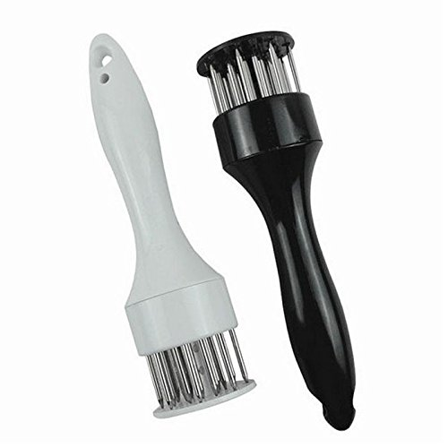 DivineXt Professional Meat Tenderizer with Stainless Steel Needle Prongs Kitchen Tool