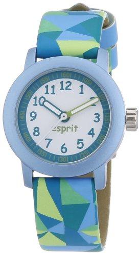 Esprit Unisex-Armbanduhr Mosaic Fun Analog Quarz Resin ES106414003