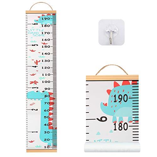 Hosung Messlatte Kinder, Baby Messlatte Wachstum(20 * 200 cm) Höhe Wachstum Diagramm für Kinder ,Meßlatte kinder Sind Die Beste Dekoration für Kinderzimmer