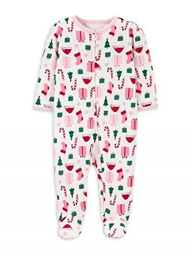 Child Of Mine by Carter's Christmas Unisex Sleep N Play Pajama