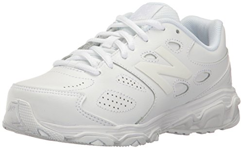 New Balance New Balance, Unisex-Kinder Laufschuhe, Weiß (White), 32.5 EU (13.5 UK Child)