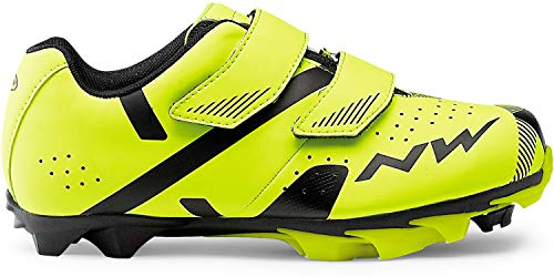 Northwave Scarpe Ciclismo Uomo Hammer 2 Junior Yellow Fluo/Black [Taglia 35]
