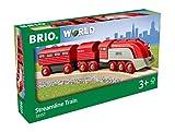 Brio 335576 Tren aerodinámico, BRIO Trenes-Vagones-Vehículos, Edad Recomendada 3+