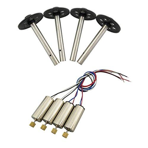 Sharplace Engranajes Principales y Motor Accesorios para JJRC H8C DFD F183 RC Drone Quad