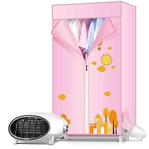 TQMB-A Secadora de Ropa portátil eléctrica portátil Plegable 170 cm de Gran Capacidad de lavandería con Control Remoto Interior Mejor Ahorro de energía (anión)