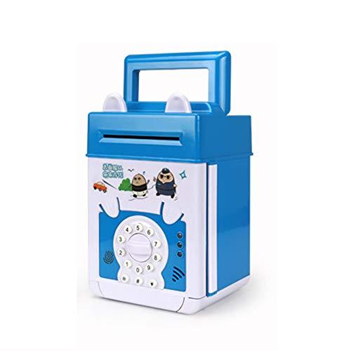 household items Mini alcancía de cajero automático, niños, Hucha con contraseña electrónica, Caja de Bloqueo de contraseña para niños y niñas