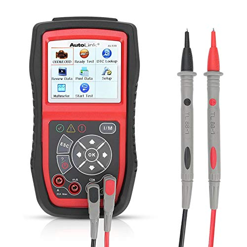Autel AL539 Code Reader OBD2 Scanner Scan Tool Car Electrical Tester with Full OBD2 Diagnoses and Avometer Function(Upgraded Version of AL519)