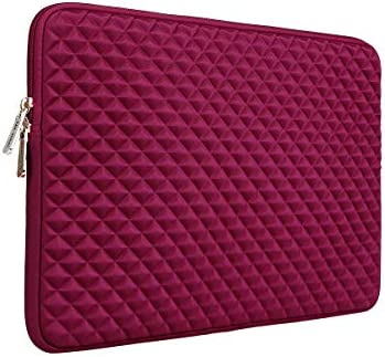 RAINYEAR 13 Inch Laptop Sleeve Diamond Foam Shock Resistant Case Cover Bag Compatible with 13 product image
