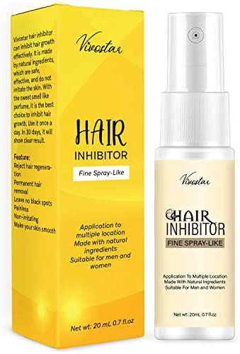 Hair Inhibitor Painless Hair Stop Growth Spray Apply after Hair Removal Non Irritating Hair product image