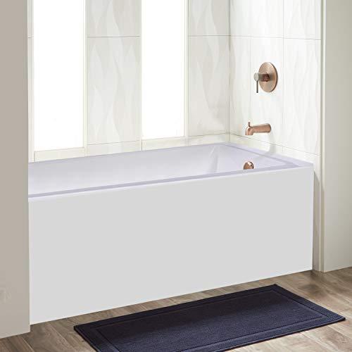 Fine Fixtures Acrylic/Fiberglass Soaking Bathtub, Exclusive Extra Small Size 48' x 32', Alcove/Apron Front (Right Hand) BTA106-R