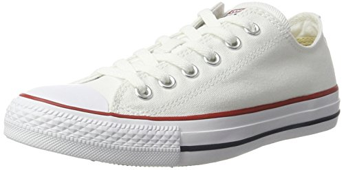 Converse Unisex Chuck Taylor All Star Low Top Shoe (9.5 M US Women / 7.5 M US Men, Optical White)