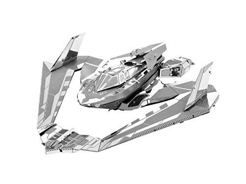 Metal Earth - Fascinations, BATMAN V SUPERMAN BATWING Rompecabezas de metal 3D, modelos de corte por láser, 3D metal Puzzle