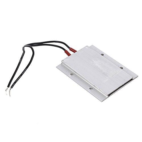 Zerodis Piastra riscaldante per termostato PTC, Kit riscaldatore Aria per Elemento riscaldante PTC a Temperatura costante elettrica 220V(50W 80℃)